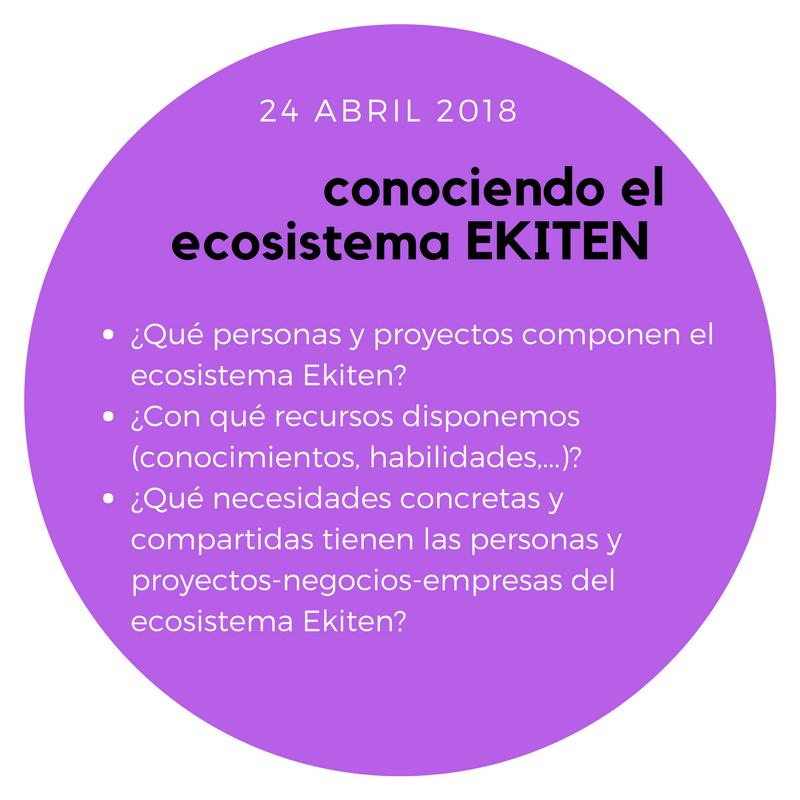 EKITEN #1- conociendo el ecosistema Ekiten