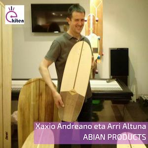 Xaxio Andreano y Arri Altuna – Abian products