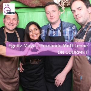 Egoitz  Maya  eta  Fernando  Mott  Leone  –  ON  GOURMET